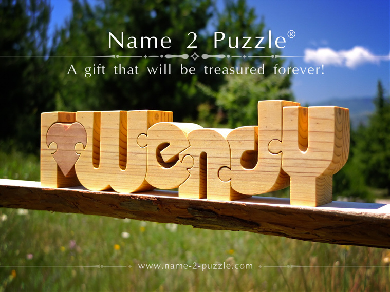 unique personalized gifts name puzzle